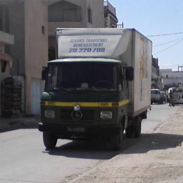 déménagement tunisie
